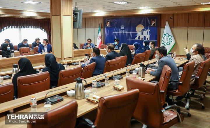 هم اندیشی مدیران روابط عمومی شهرداری تهران با رئیس مرکز ارتباطات و امور بین الملل شهرداری تهران