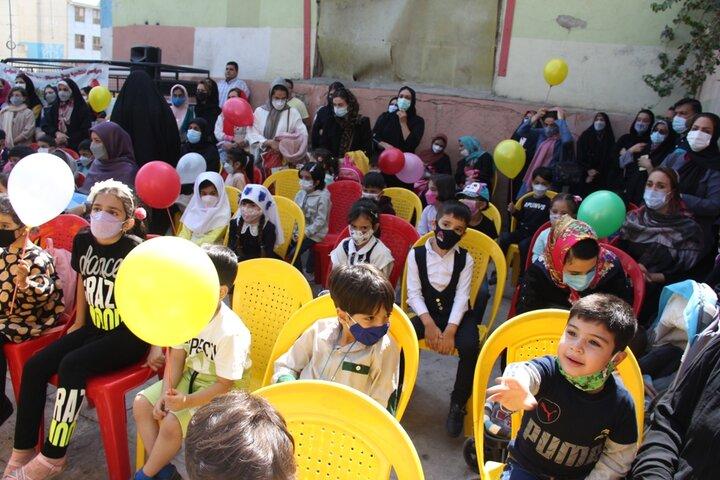 اجرای ویژه برنامه های هفته ملی کودک در منطقه ۹