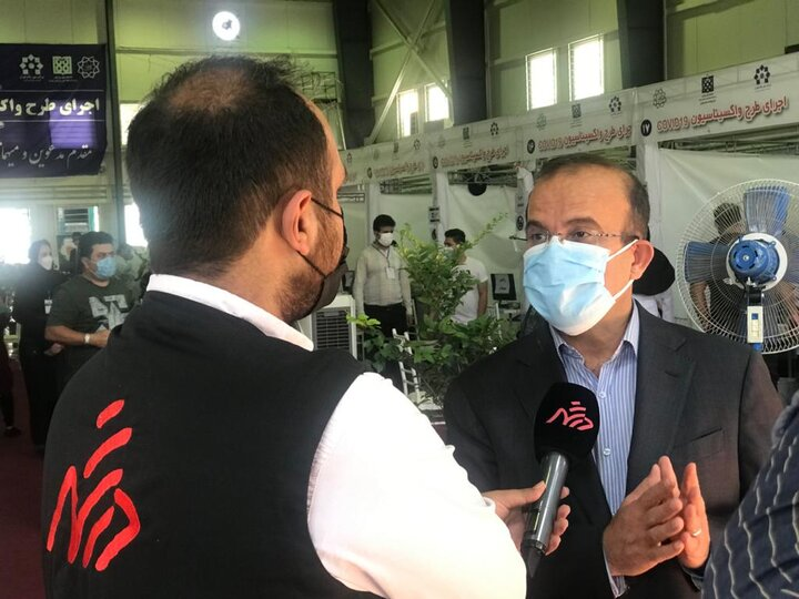 تزریق دُز سوم واکسن کرونا به کارکنان شهرداری تهران