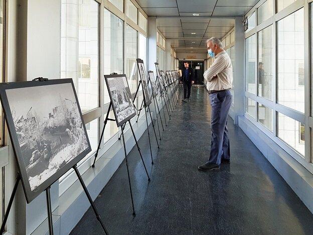 برپایی نمایشگاه عکس های تاریخی در منطقه ۱۴