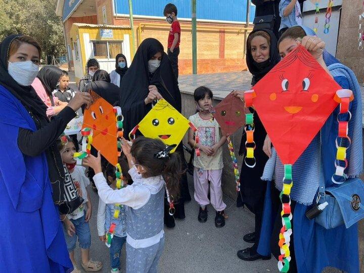 برگزاری جشنواره بزرگ بادبادک ها در منطقه ۱۵