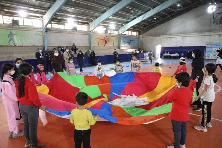 برگزاری کارگاههای مهارتهای پایه حرکتی کودکان