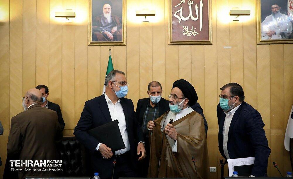دیدار شهردار تهران با اعضای مجمع نمایندگان استان تهران