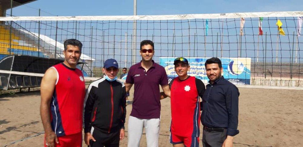والیبال ساحلی شهرداری تهران قهرمان شد
