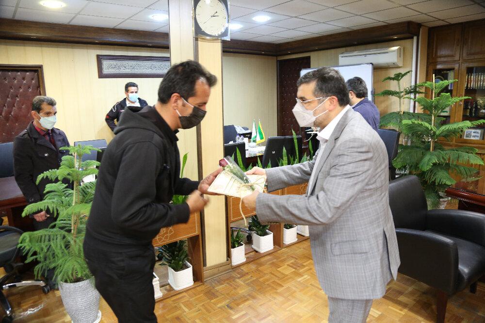 تقدیر شهردار قلب پایتخت از خادمین اربعین