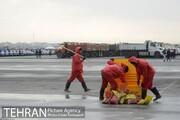 تخریب مخازن شن و نمک توسط معتادان متجاهر