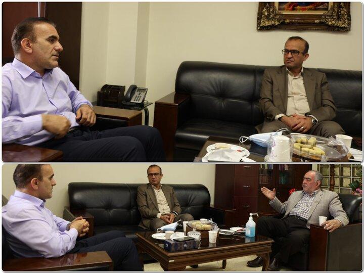 دیدار مدیرعامل شرکت شهر سالم با رییس سازمان نظام پزشکی