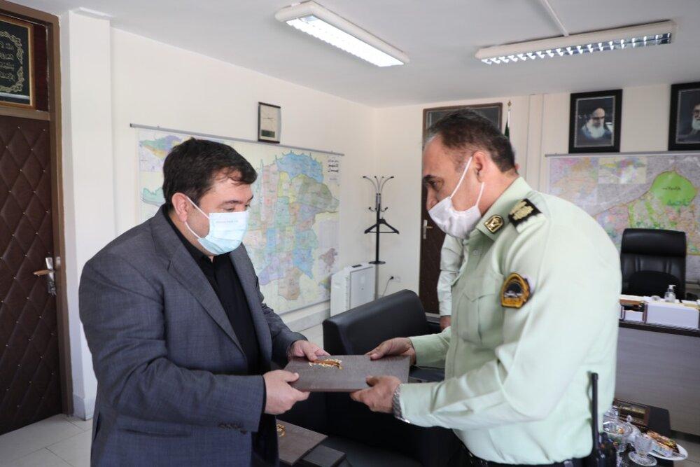 دیدار صمیمی شهردار منطقه ۱۹ با فعالان عرصه نظم و امنیت