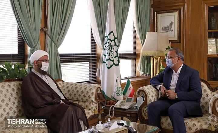 دیدار شهردار تهران با رئیس شورای سیاستگذاری ائمه جمعه