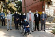 مناسب سازی بیش از ۲۳ کیلومتر معبر برای معلولین