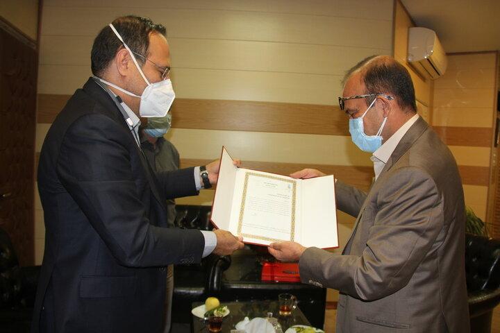 قدردانی دانشگاه علوم پزشکی ایران از خدمات شرکت شهر سالم