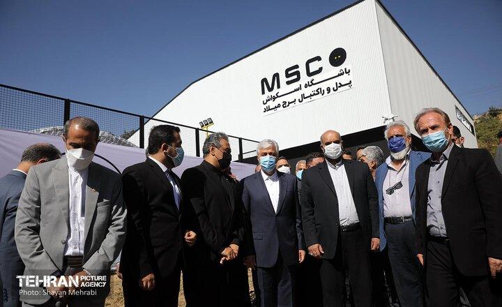 افتتاح باشگاه اسکواش و پدل در برج میلاد با حضور وزیر ورزش