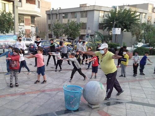 برگزاری خیابان ورزش در منطقه ۷
