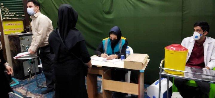 اجرای واکسیناسیون کرونا در مساجد منطقه ۱۹