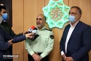 پلیس تمام قد در کنار شهردار تهران و مدیریت شهری است