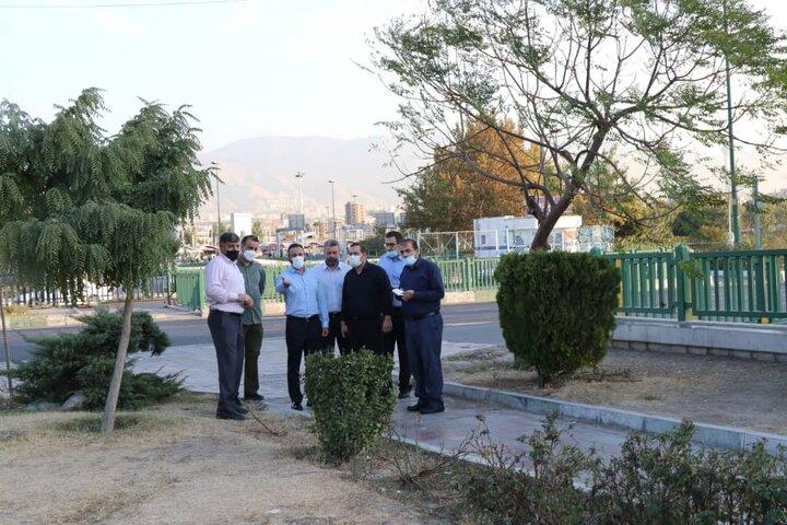 پیمایش محلات غرب تهران با حضور مدیران شهری