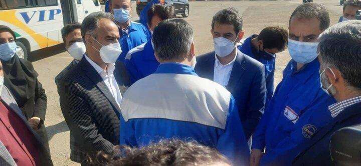 ورود ۱۱۰ دستگاه اتوبوس جدید به ناوگان اتوبوسرانی تهران